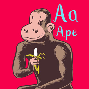 A for Ape