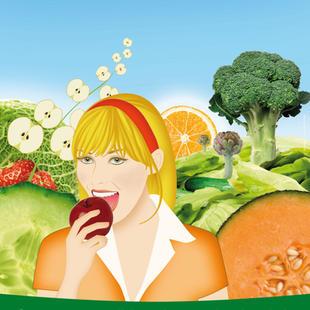 Affiche Le Fruits