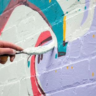 Street mural process