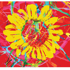 Sunflower - painting