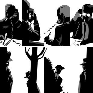 Interior illustration graphic novel