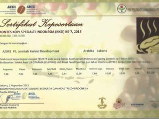 """Kopi """"BLUE KORINTJI"""" masuk 10 besar kopi terbaik Indonesia"""