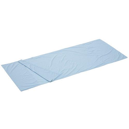 Logos 絲綢睡袋內套淺藍