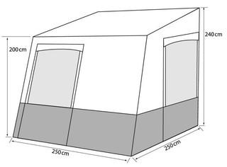 德國頂級露營車專用車邊房塔拉戈那系列
