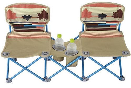 LOGOS 印地安雙人野營椅