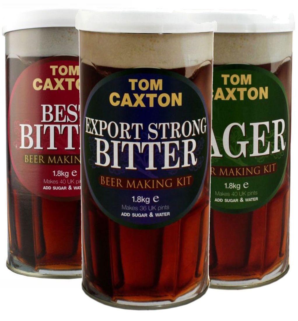 Tom Caxton Beer Kits
