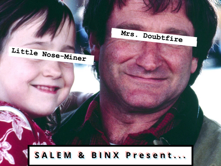 "Salem & Binx Present... Episode 5: ""Mrs. Doubtfire"""