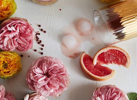 Spring-Worthy Floral Cocktails