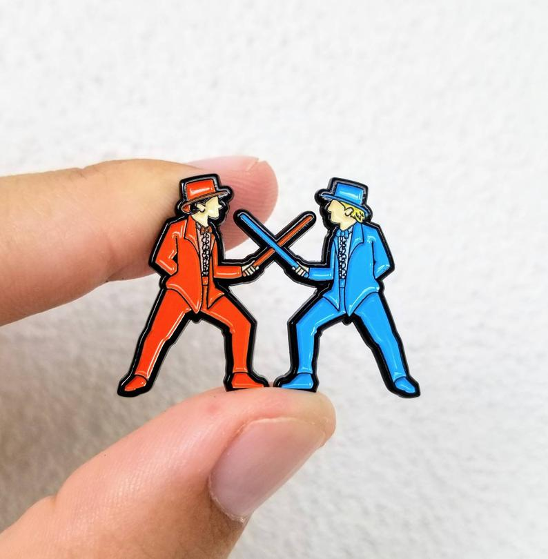 Sword Fight Pin