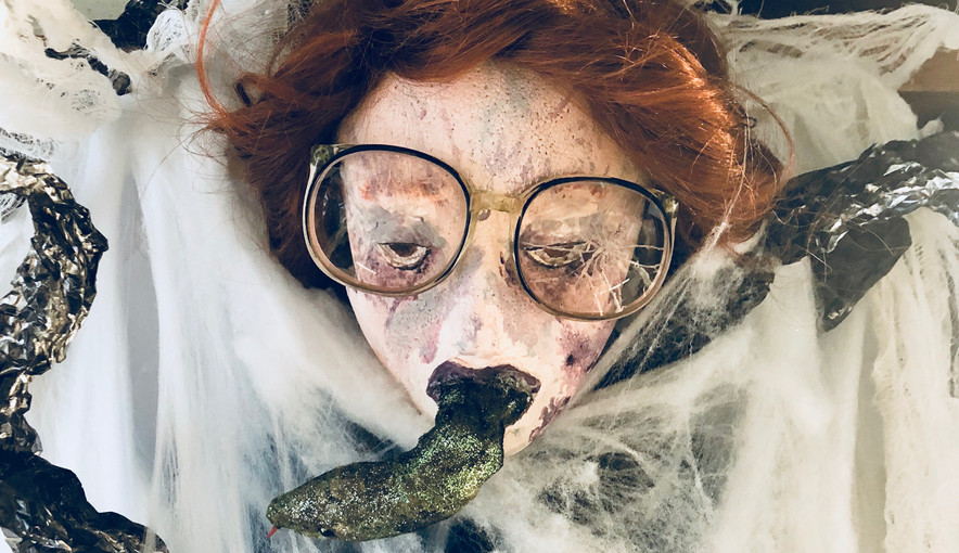 Barb Trapped