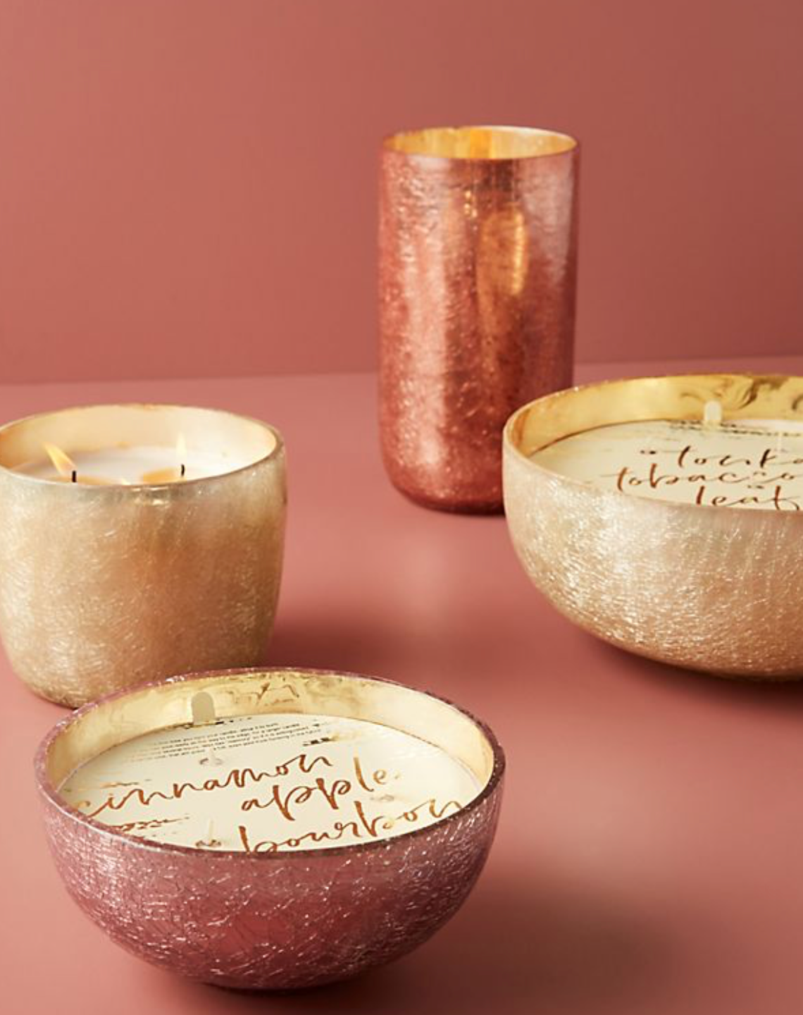 Craquelle Candles by Anthropologie