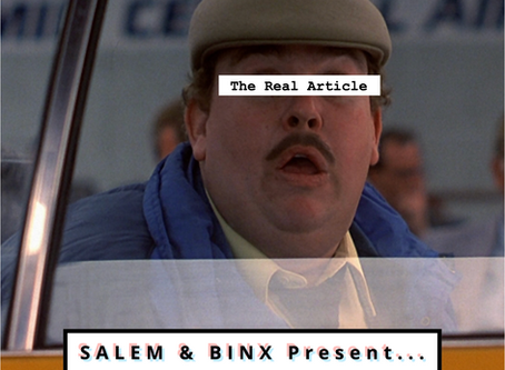 """Salem & Binx Present... Episode 10: """"Planes, Trains & Automobiles"""""""