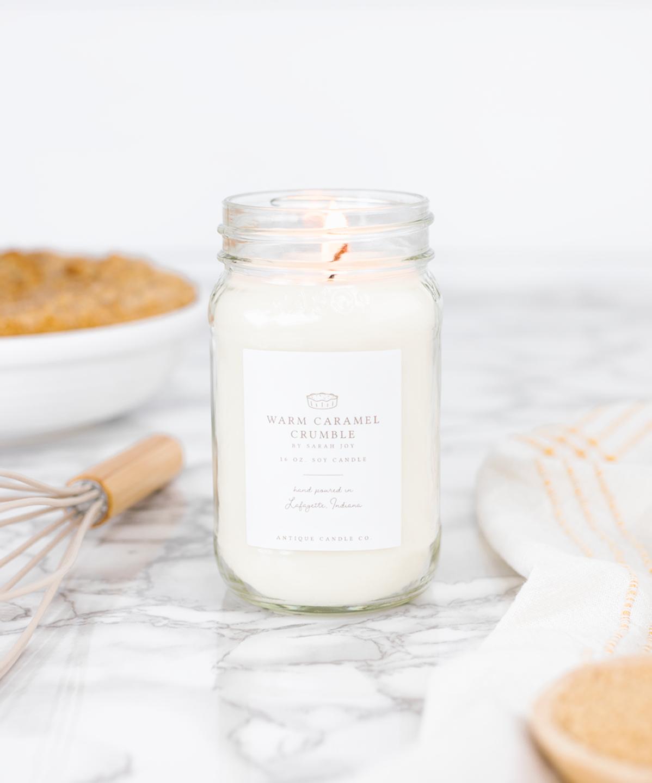 Warm Caramel Crumble - Antique Candle Co.