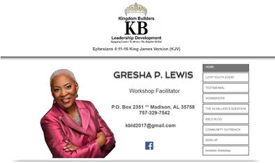 Kingdom Builders Leadership Development