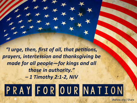 WE NEED TO PRAY FOR OUR LEADERS
