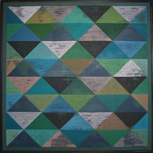 Rigid Triangles 94x94cm