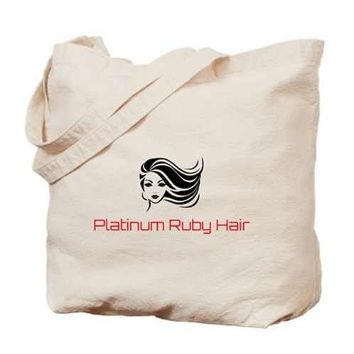Platinum Ruby Hair Tote Bag