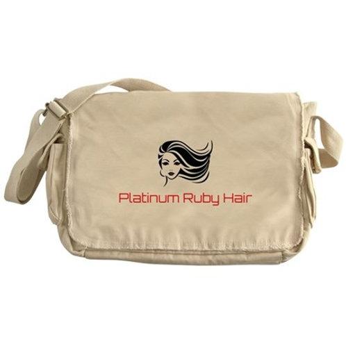 Platinum Ruby Hair Messenger Bag