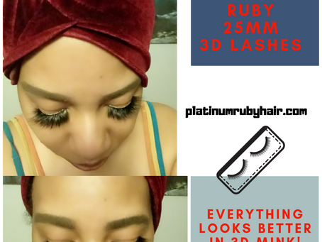 Platinum Ruby Hair 3D Mink Lashes Giveaway