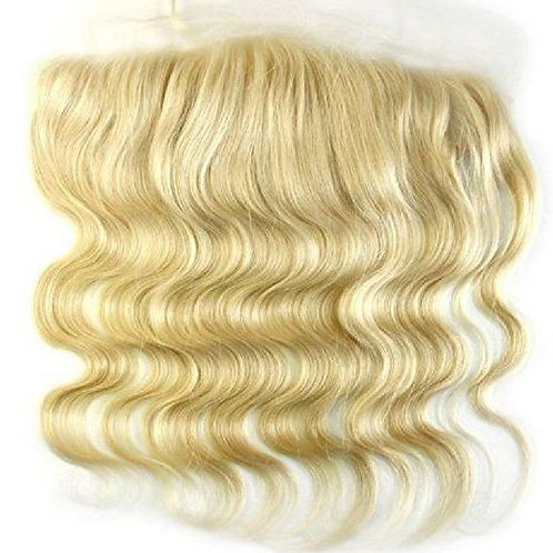 Platinum Russian Blonde Wave 360 Lace Frontal