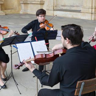 Vystoupení Academic Quartet, v rámci Kulturního léta 2017