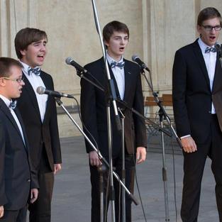 Koncert Pěveckého kvarteta Symfon