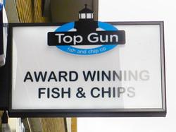 Top Gun Bus Stop