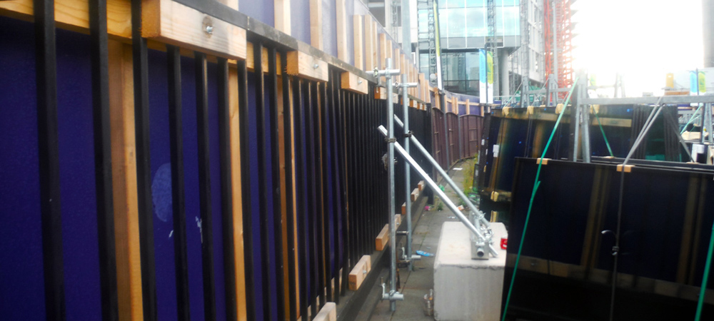 Back Panel Hoarding