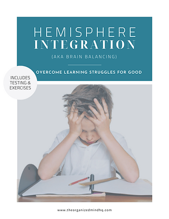 Hemisphere Integration eCourse Workbook
