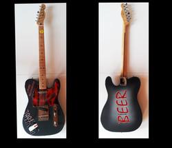 Airbrush Gitarre