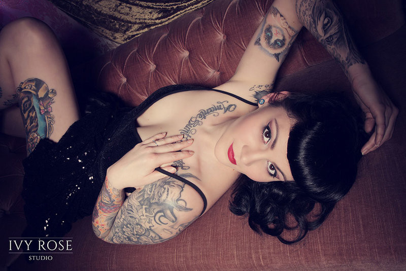 Boudoir and Pin-up Photoshoot Manchester