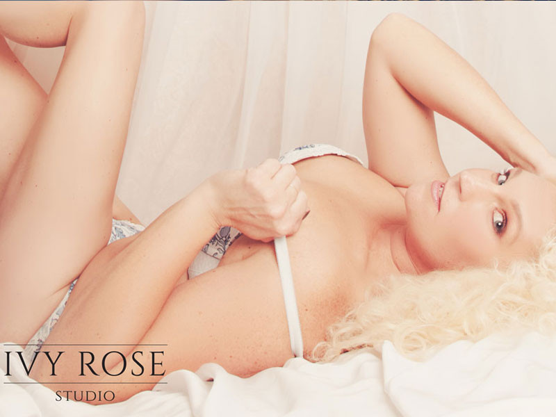 Valentine's photoshoot at Ivy Rose