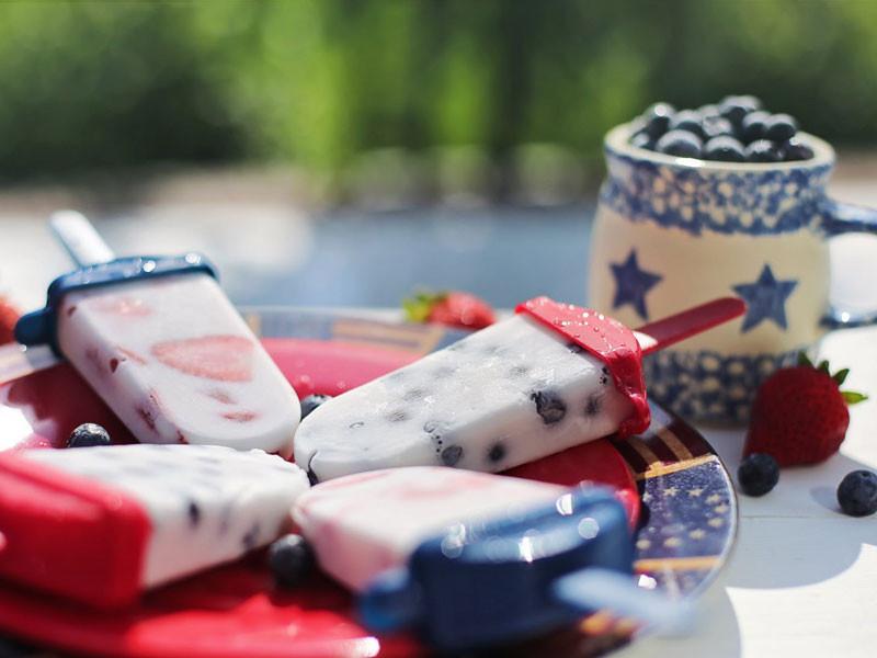 Delicious and healthy summer treats