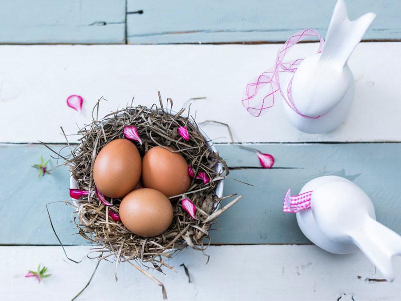 Proper Easter eggs