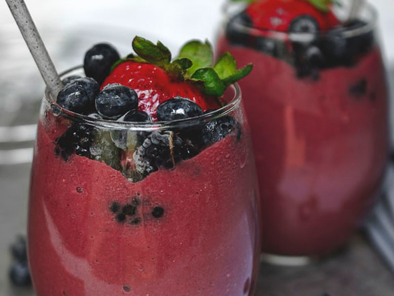 blueberry smoothie recipe