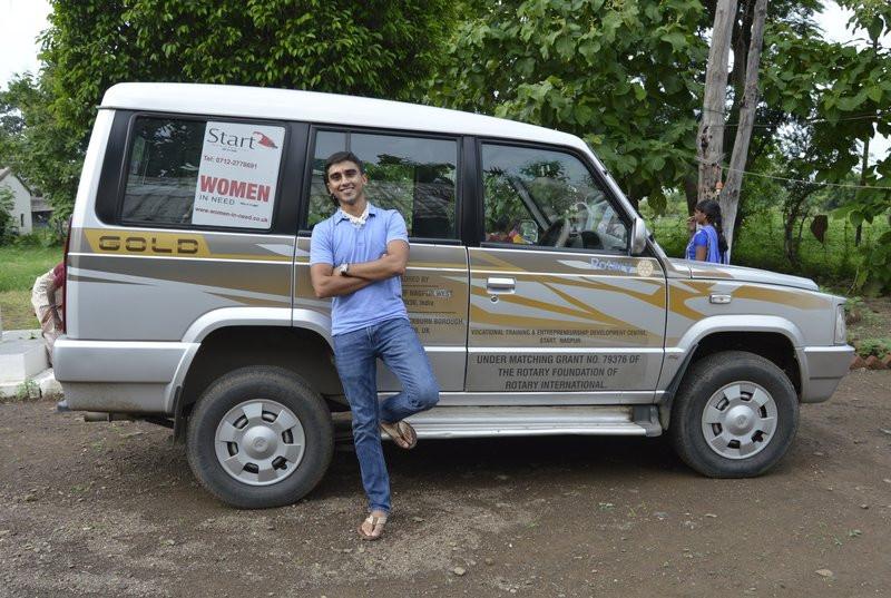 Anish Chandak visits Women In Need