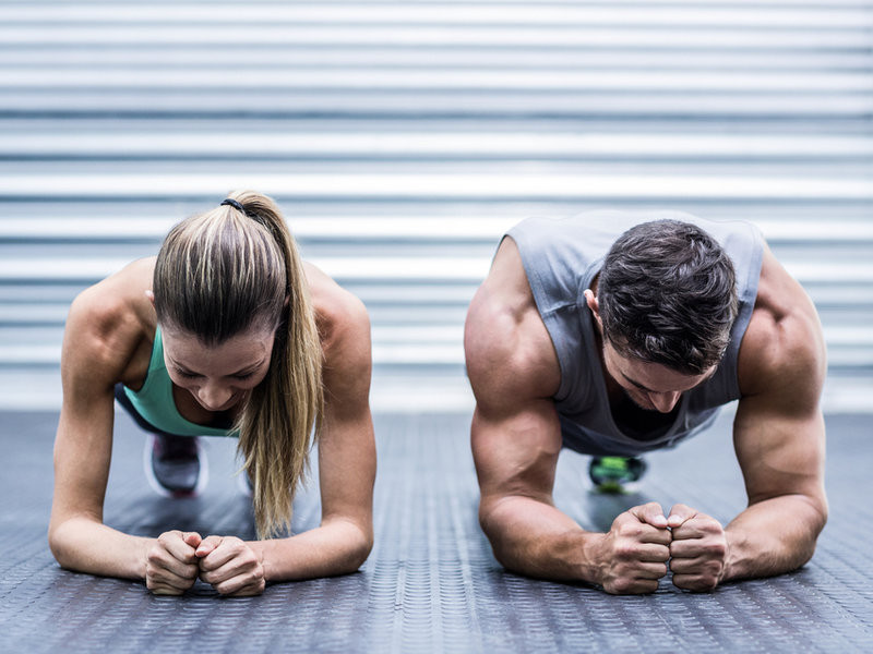 Personal training sessions for couples