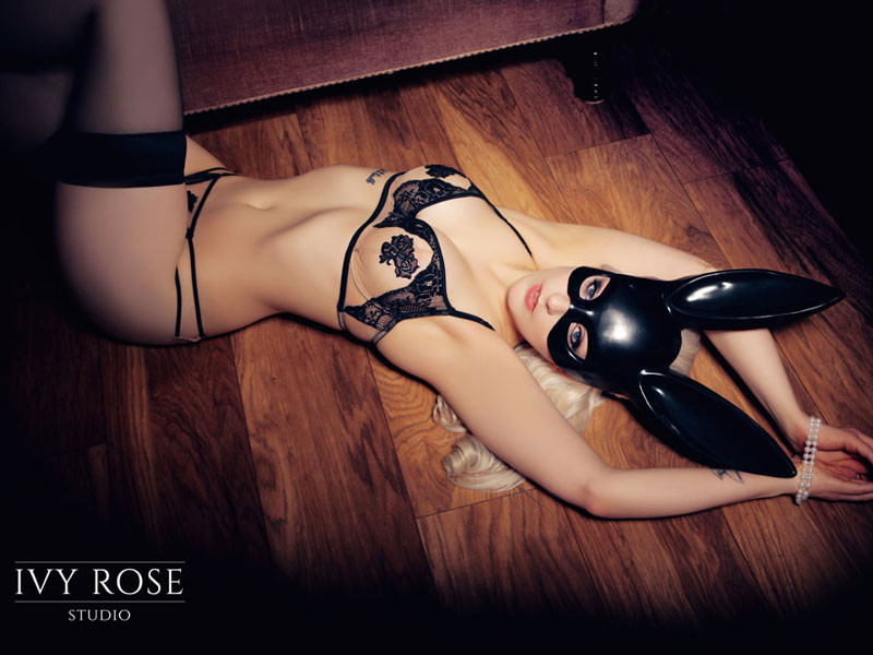 Halloween boudoir photography