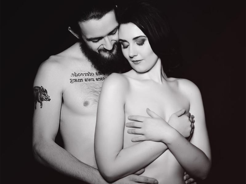 Couple's photoshoot at Ivy Rose Studio