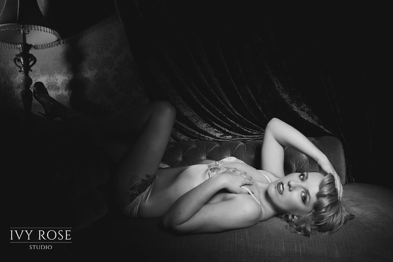 boudoir photo shoot manchester