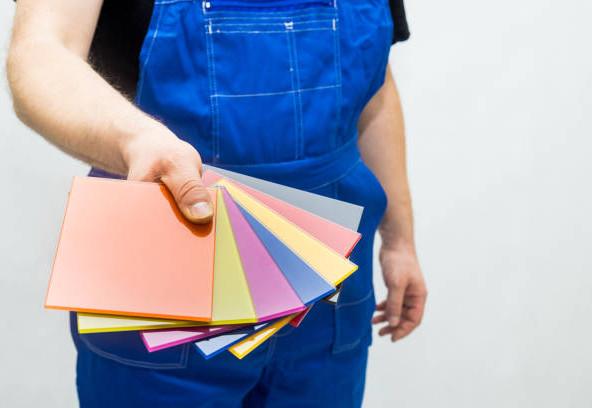 panel vitrages laqués colorés crédence d