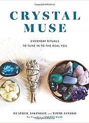 crystal muse, crystal plants, crystal book, plants in crystals, book club plants, plant book club, book reviews, creative plants, diy