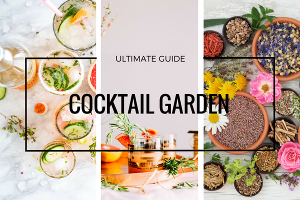 cocktail garden, cocktail guide, garden guide, diy cocktails, ultimate cocktail garden, cocktail books, plant book clubs