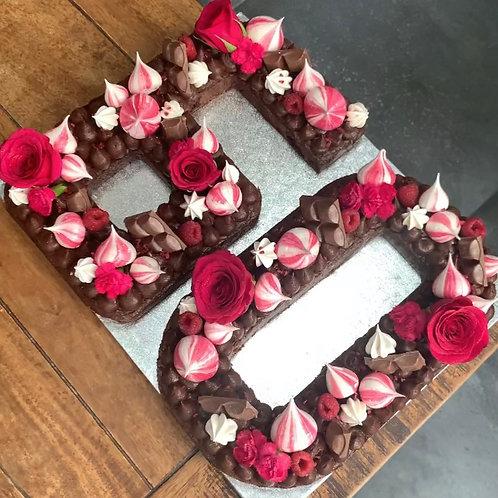 Number/Letter Cake Deposit