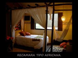 RECAMARA TIPO AFRICANA