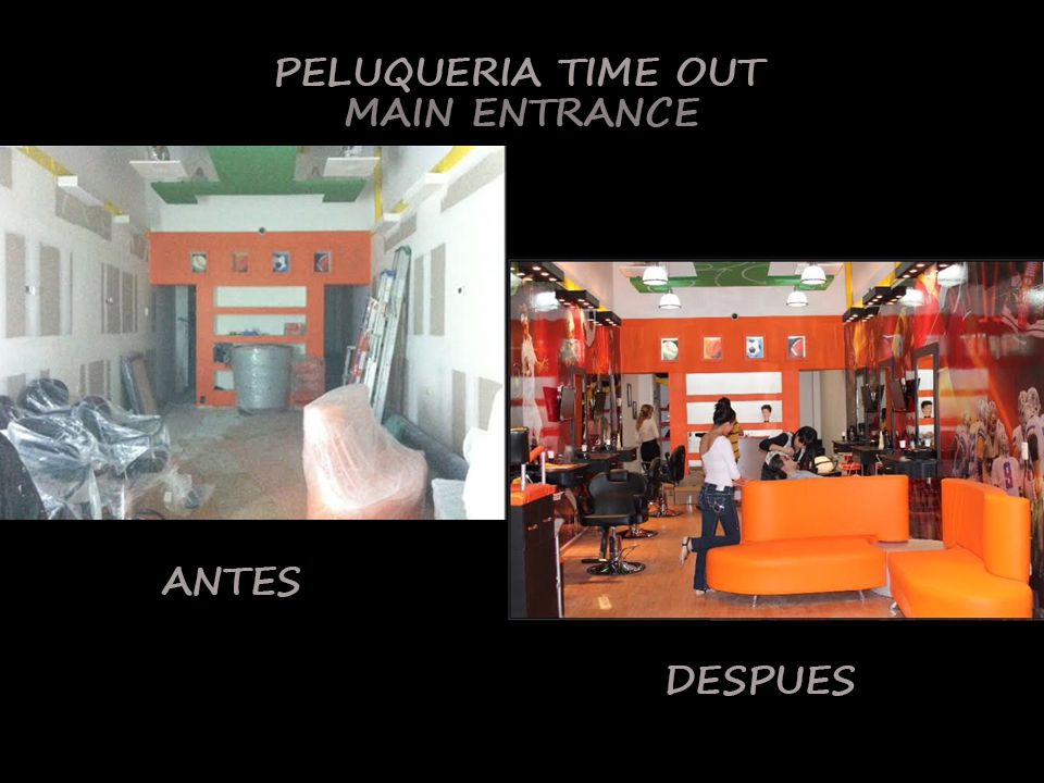 PELUQUERIA TIME OUT