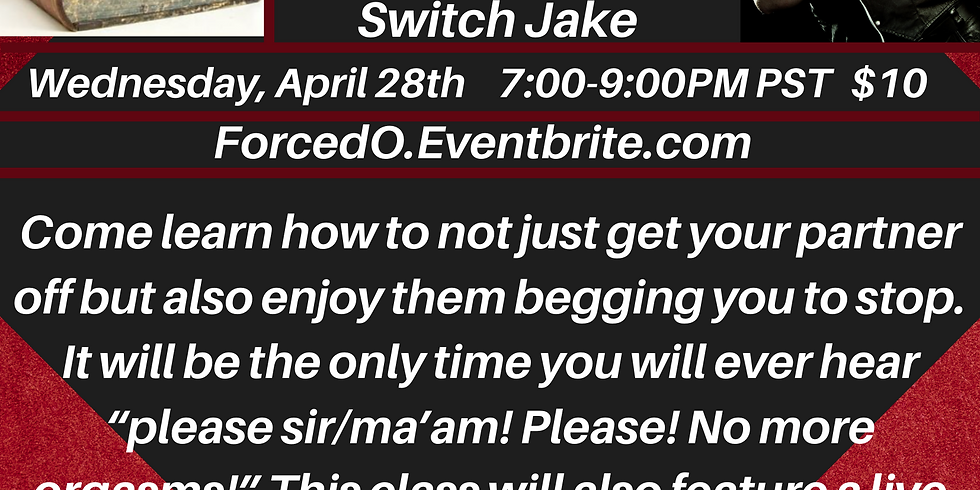 Forced Orgasm with Switch Jake