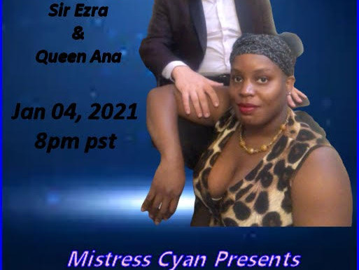 In The Spotlight with Mistress Cyan interviewing Sir Ezra and Queen Ana