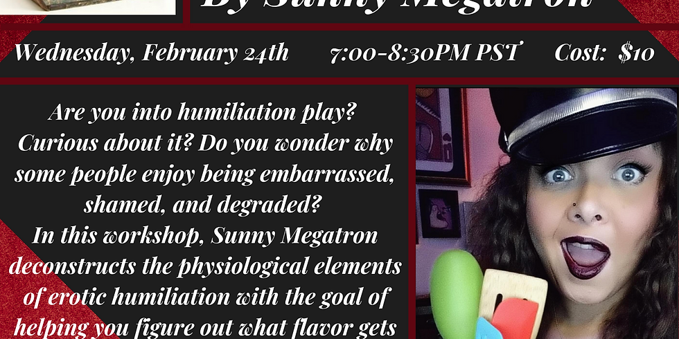 Hot and Healthy Humiliation with Sunny Megatron