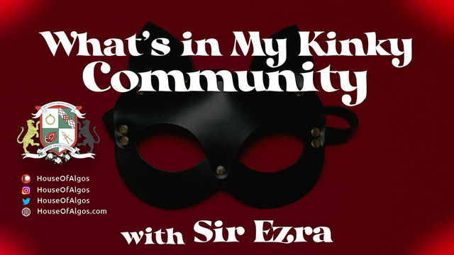 What's In My Kinky Community Teaser with Gabriel Green!